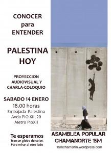 Acto de la embajada Palestina en España