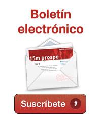 Suscríbete a nuestro boletín electrónico